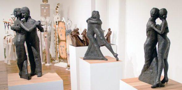 Tango Dancers - Sculptures by Tani Shavit